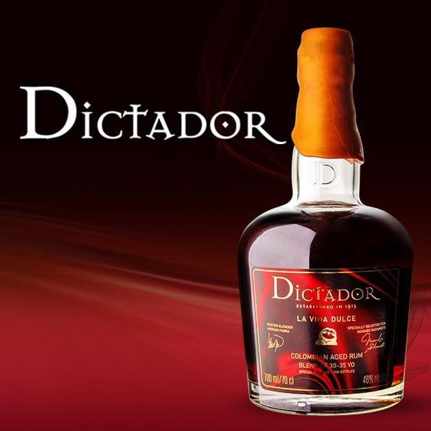 ディクタドール ラ ヴィダ ドゥルセ 京都 Rum & Whisky 10周年記念ボトル 700ml