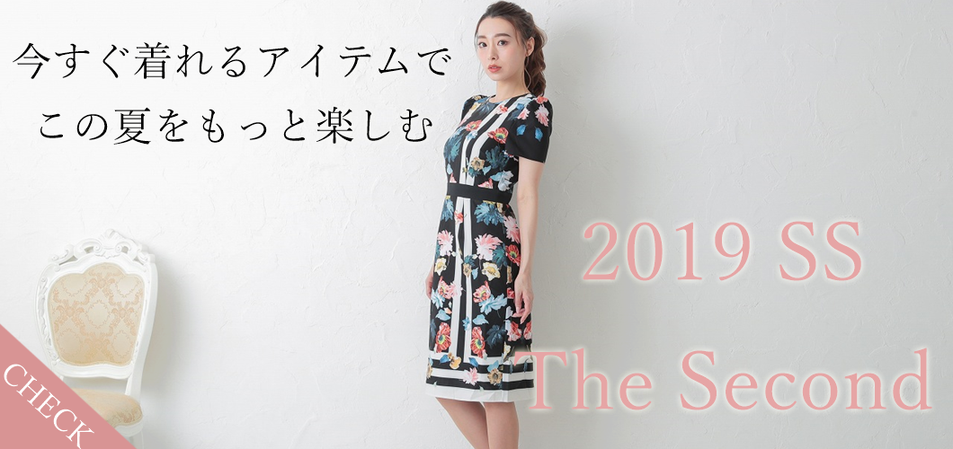 2019SS第二弾新作ドレスやワンピースを続々入荷