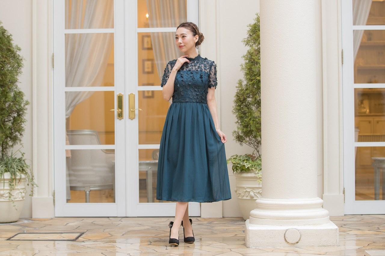 おすすめのセミアフタヌーンドレス