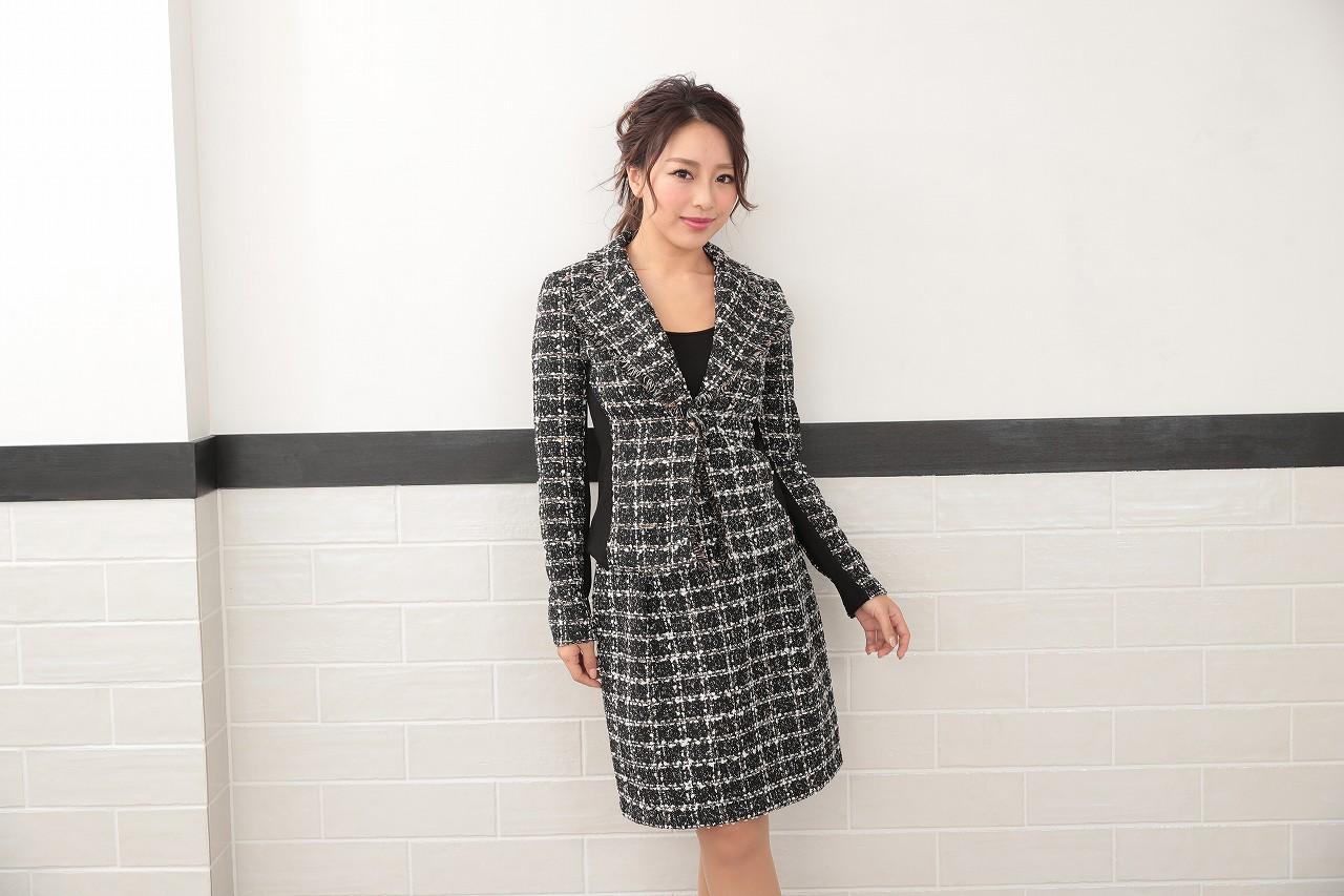 入学(園)式にはツイードのジャケット×スカートで春らしく