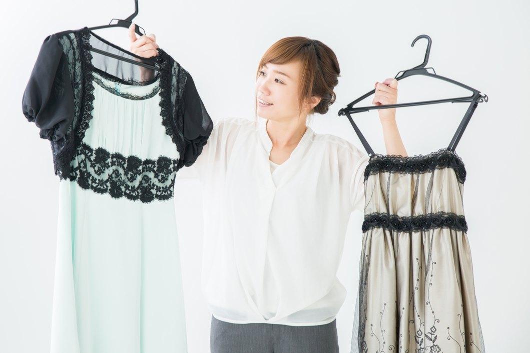 40代におすすめの同窓会ドレス