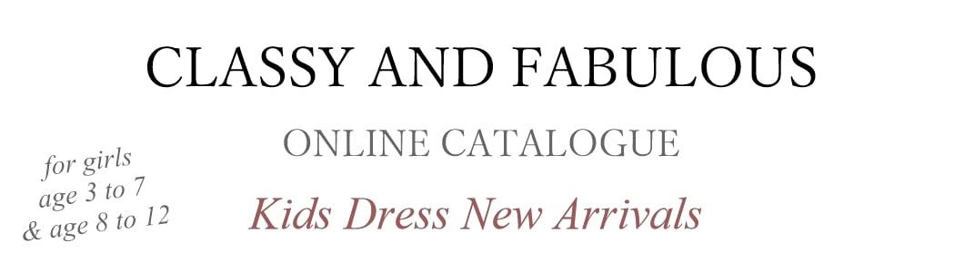 CLASSY AND FABULOUSオンラインカタログ新作キッズドレスが可愛い!3歳から12歳までサイズ豊富