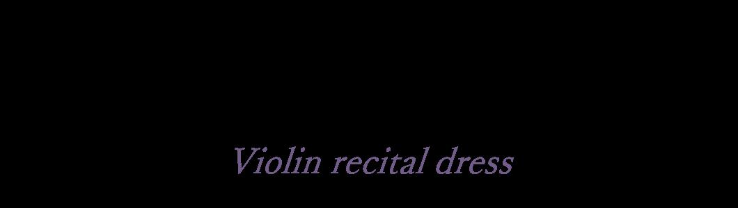 CLASSY AND FABULOUSオンラインカタログヴァイオリンにおすすめ中高生から大人向けドレス
