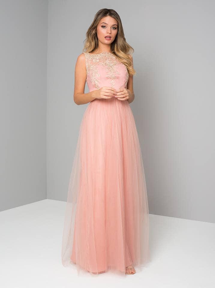 フレア ブライズメイドドレス