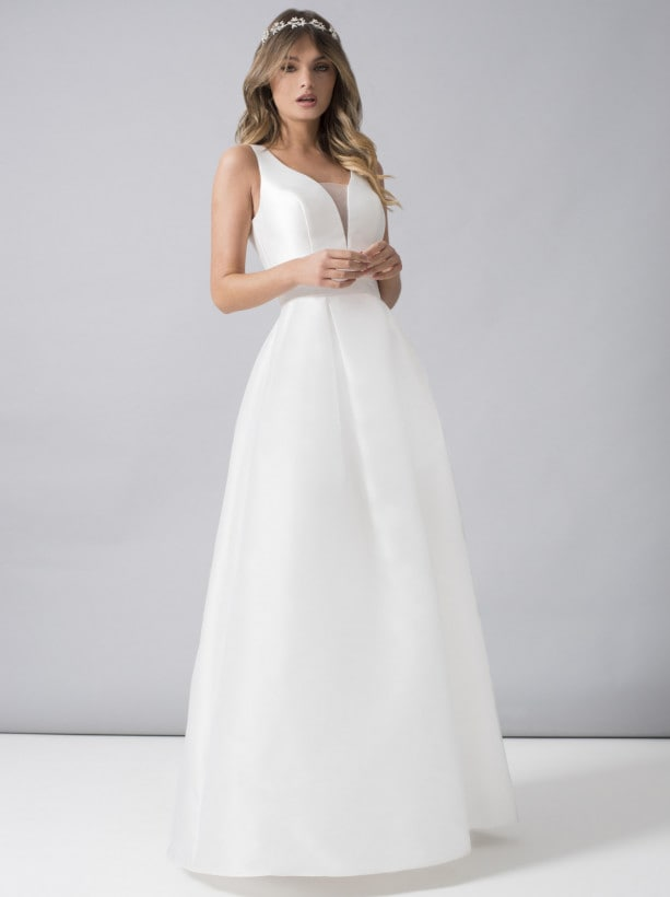 Aライン 花嫁ドレス