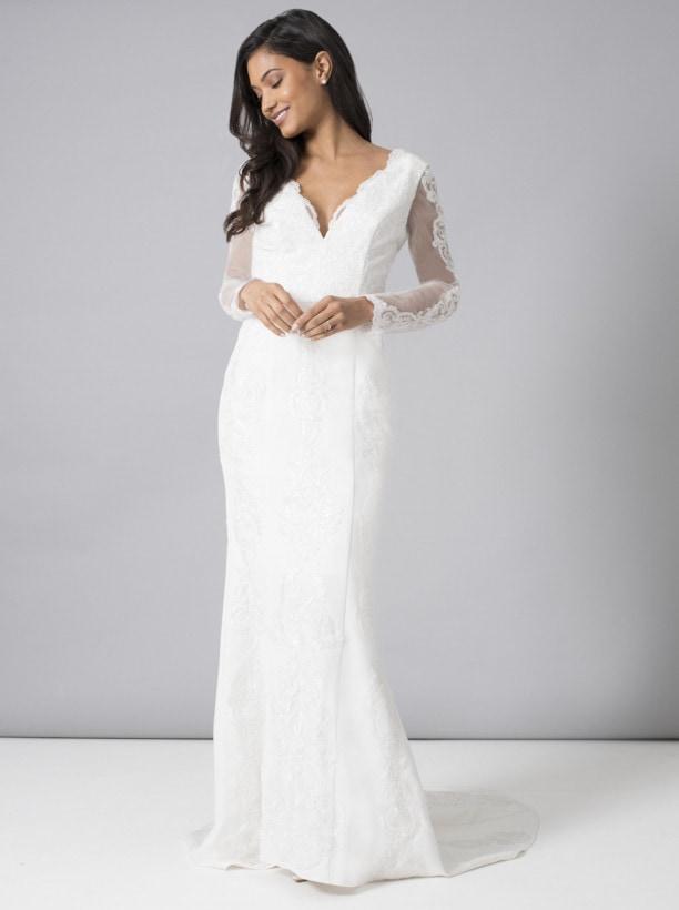 レース 花嫁ドレス