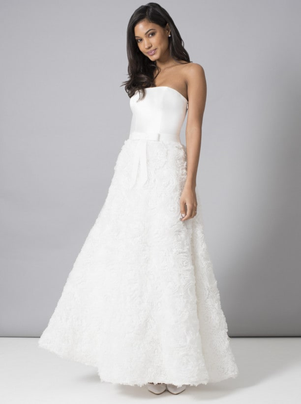 フレア 花嫁ドレス