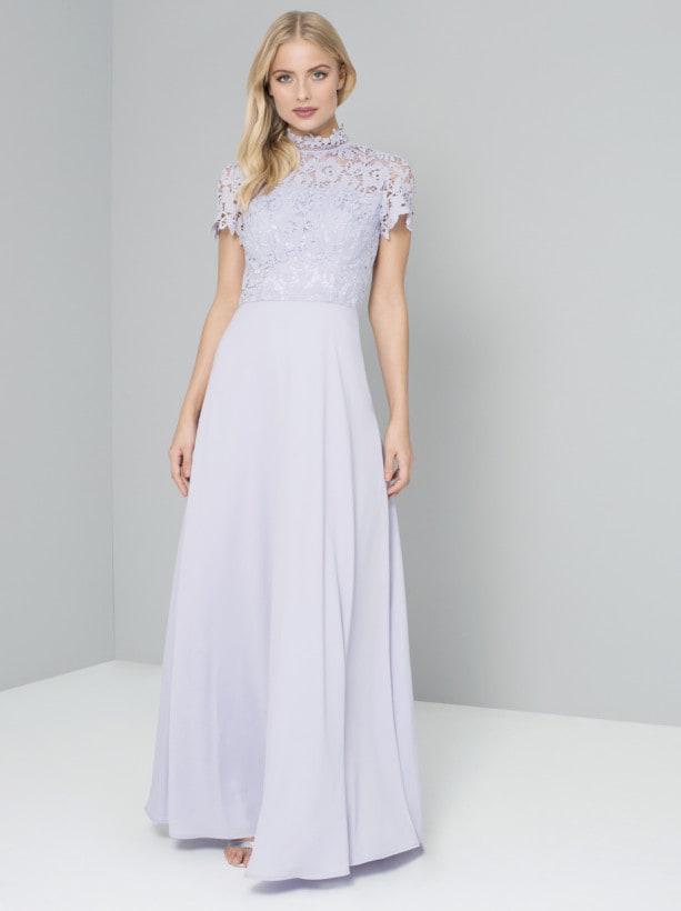 レース ブライズメイドドレス