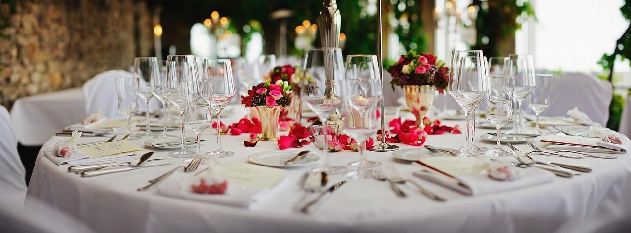 結婚式のテーブルマナー