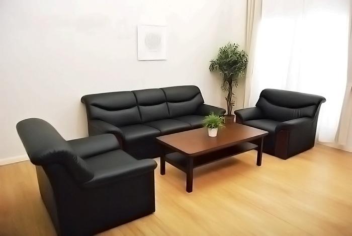 応接セット 4点セット 応接ソファ 高級 応接椅子 応接テーブル ソファセット 応接室 おしゃれ オフィス家具 応接 シエル フィオーレ4点セット YKA-TS