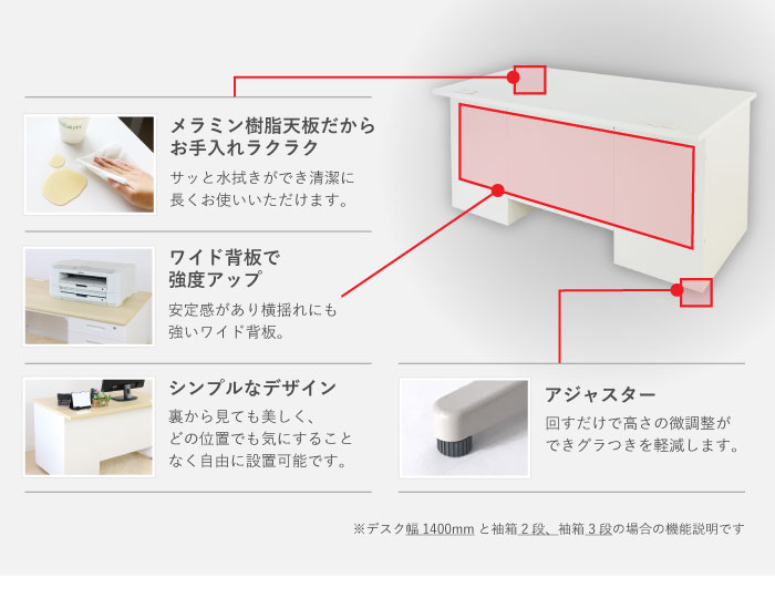 中古より激安でもシンプルでお手入れラクラクなメラミン天板