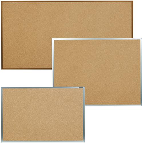 画鋲とマグネットの使用が可能で、ホワイトボードとコルクボードの良さを合わせ持つ優れもの