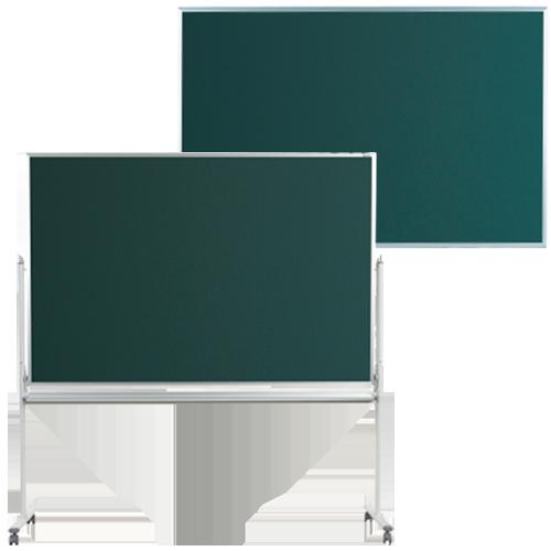 おしゃれな店舗や教育施設などで最適な脚付と壁掛け用の無地黒板
