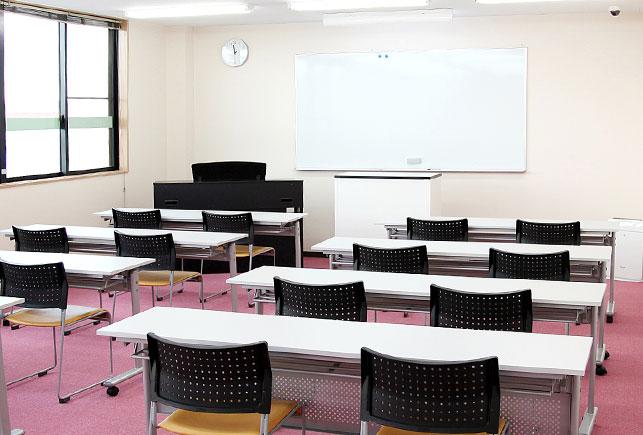 セミナーや研修室でのホワイトボード使用イメージ