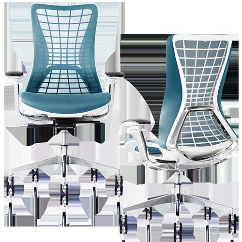卓越したデザイン性と快適な座り心地を兼ね備えた新時代のオフィスチェア「spider」