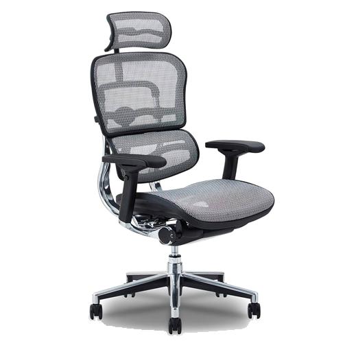 長時間の作業や腰痛でお困りの方にお勧めなのが高機能オフィスチェア