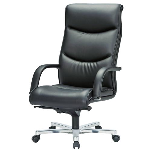見た目の高級感に特化した社長室や役員室などに多く使われるオフィスチェア