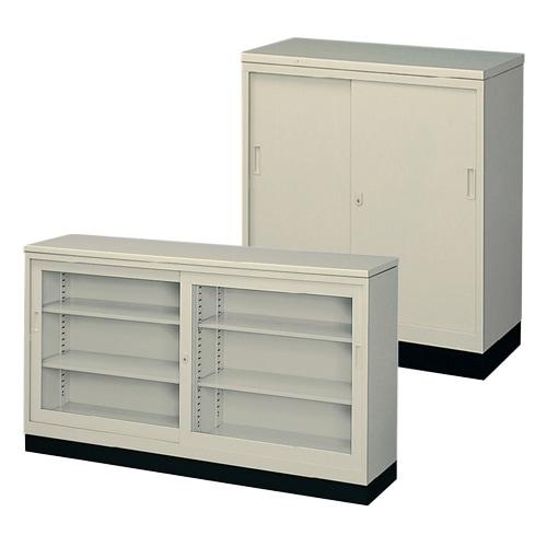 オフィスの収納書庫やキャビネットとしても利用可能な簡易受付カウンター