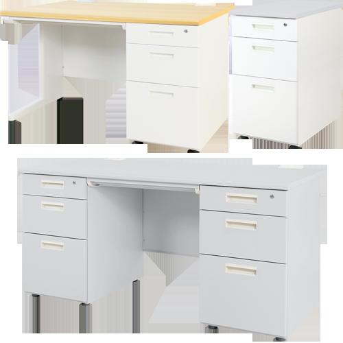 オフィス家具通販のルキット1番人気オフィスデスク