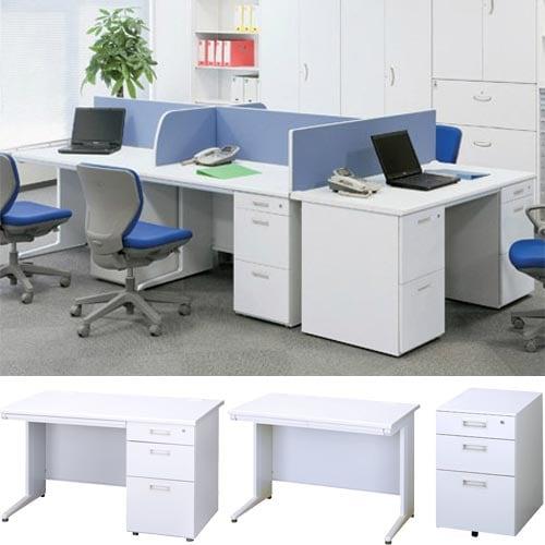 オフィス家具通販のルキット1番人気のスチールデスクシリーズ