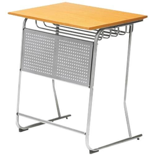 懐かしさある塾や学校などの教育施設で多く使われる学習机