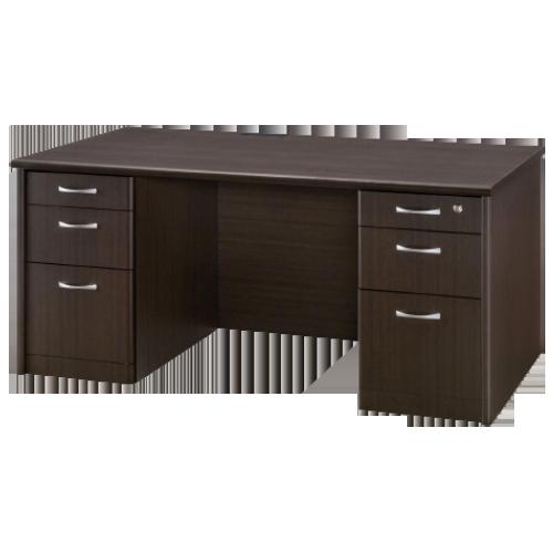 高級感のある机でありながら機能面も優れた社長室に欠かせないエグゼクティブデスク