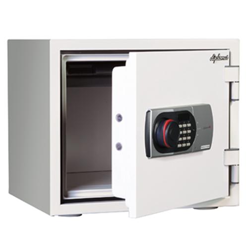 デジタルメディアの収納にも対応したディプロマット製小型金庫