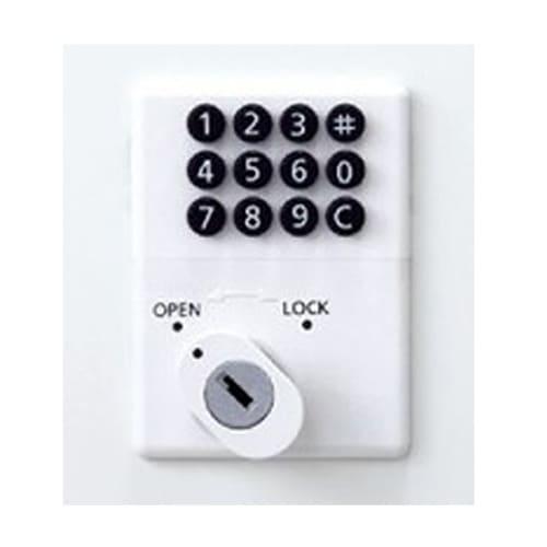 ボタン式ロッカーの使用イメージ