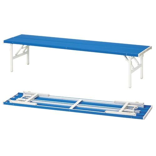 折りたたみ式で収納可能な屋外イベント対応に優れた折り畳みベンチ