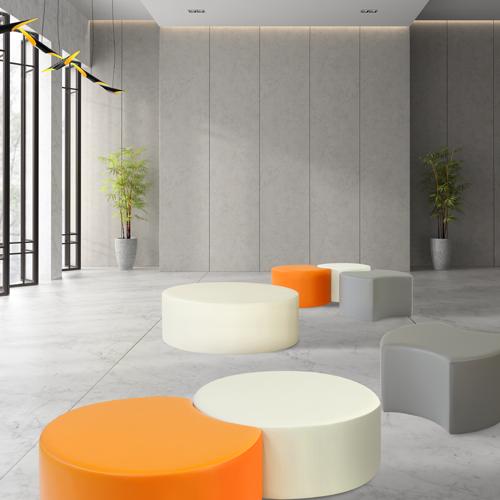 オフィス家具通販のルキットオリジナルのおしゃれな商業施設や休憩スペースで大人気のスツール