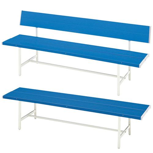 バス停やスポーツ施設で大人気の名入れ対応可能な屋外用カラーベンチ
