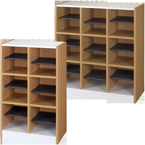 木製がおしゃれなオフィス家具通販のルキットオリジナルの激安シューズラック