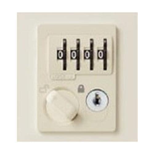 鍵が不要で不特定多数の利用にも適したダイヤル錠タイプの錠前