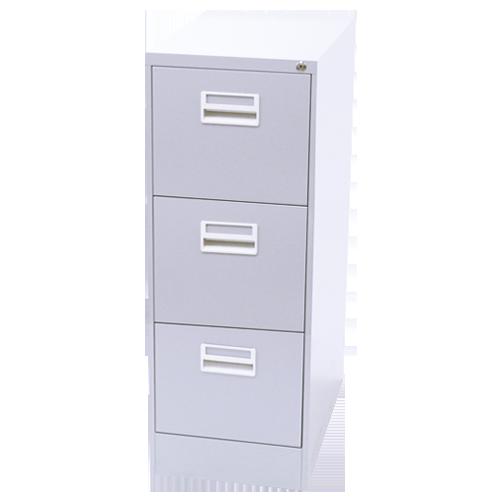 オフィス家具通販のルキットオリジナルのファイリングキャビネット3段のイメージ