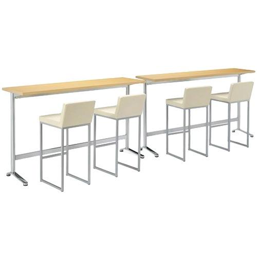 オフィスのリフレッシュスペースや店舗でも人気のカウンターテーブル