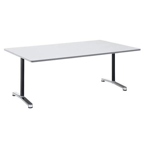 長方形のオフィスや会議室などで人気なミーティングテーブル