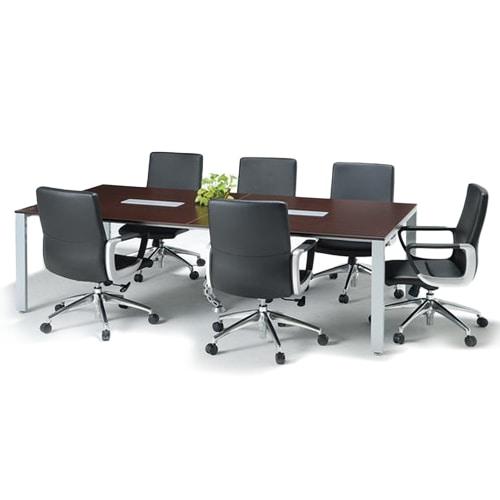 オフィス家具通販のルキットが厳選したミーティングテーブルとミーティングチェアのお得な会議用ミーティングテーブルセット