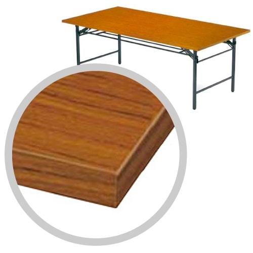 共巻の仕上げで激安な折りたたみ会議テーブル
