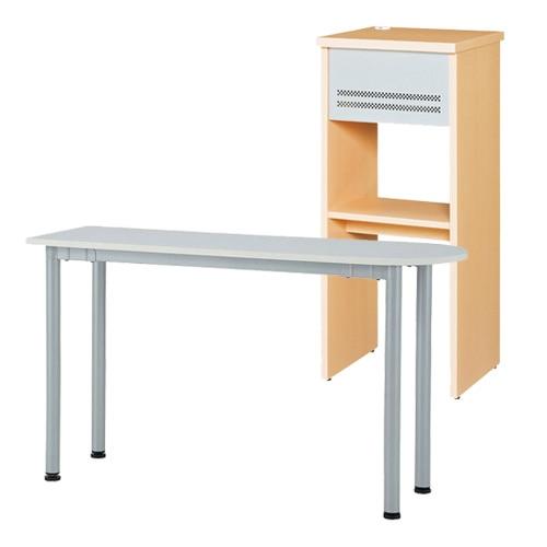 小規模オフィスなどで人気の電話台と作業台としてもおすすめのサイドテーブル