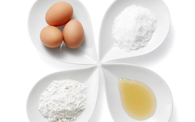 砂糖・卵・材料写真