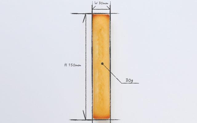 米粉フィナンシェ 構図