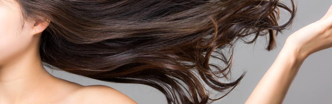サラサラの髪のイメージ