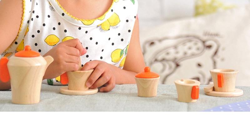ボイラ ティーセット S032P /木のおもちゃ/木製玩具/ウッドトイ/木製トイ/知育おもちゃ/おままごと/教育玩具/