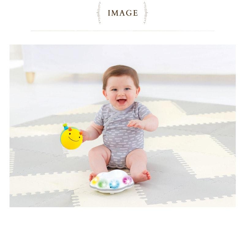 SKIPHOP(スキップホップ) ビー・スパイラルトイ  TYSH303108  赤ちゃん おもちゃ 音の鳴るおもちゃ ハイハイ 出産祝い