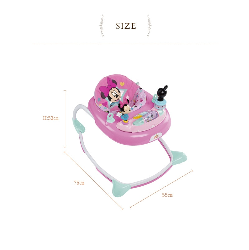 Disney baby(ディズニーベビー) ミニーマウス・スターズ&スマイルズ・ウォーカー