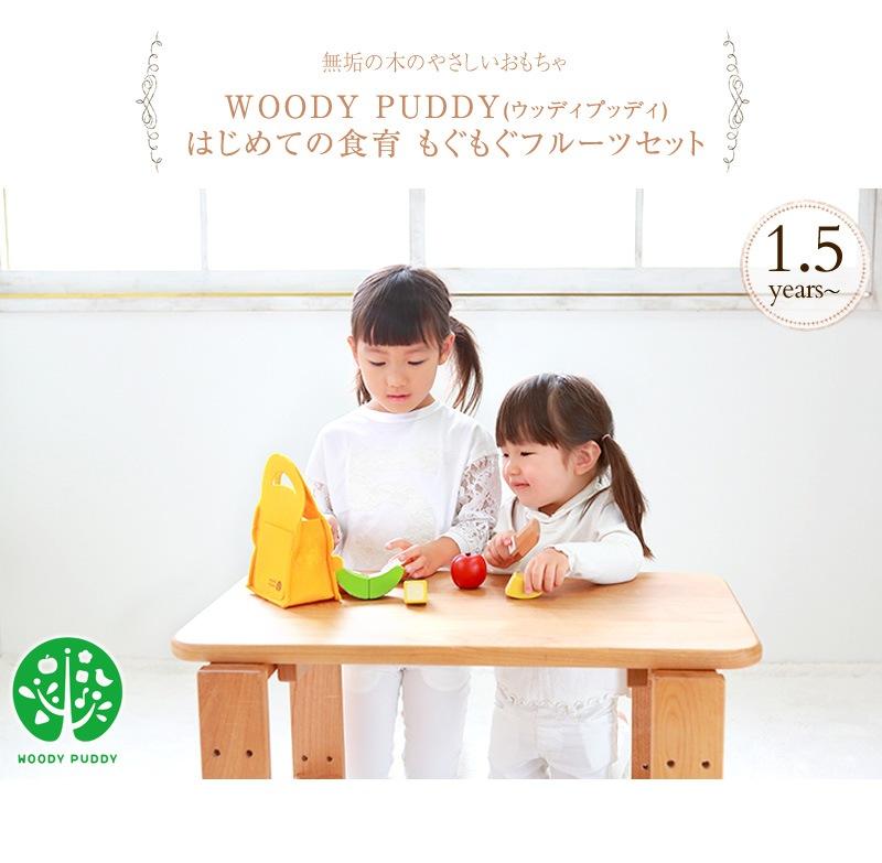 WOODY PUDDY ウッディプッディ はじめての食育 もぐもぐフルーツセット G05-1171