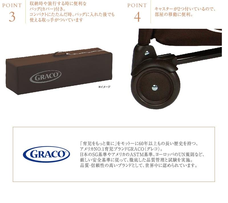 GRACO グレコ パッキンプレイ プレイヤード スタンダード Pack 'n Play Playard Standard アスペリー 1923621