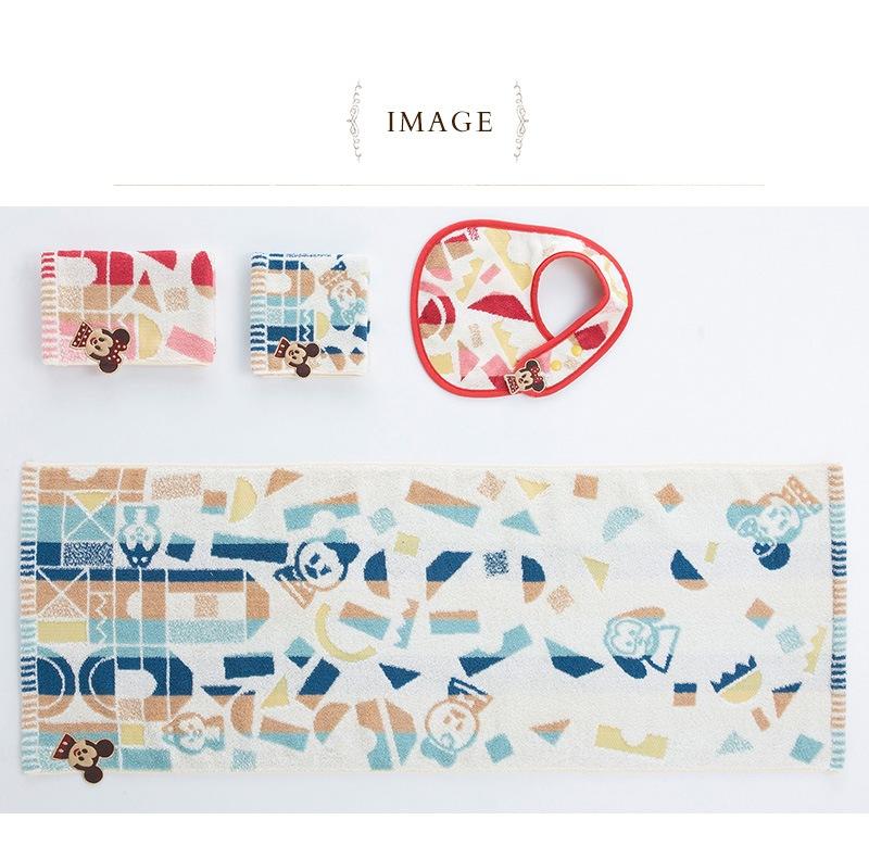Disney KIDEA タオル アツマル フード付バスタオル ブルー  NZKD1037480BL