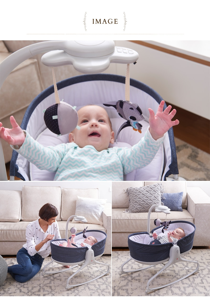 TinyLove タイニーラブ 3in1 おひるねロッキング・ナッパー 5090087001  バウンサー ベビー ゆりかご 新生児 ベビーベッド ベビーバウンサー 赤ちゃん 出産祝い