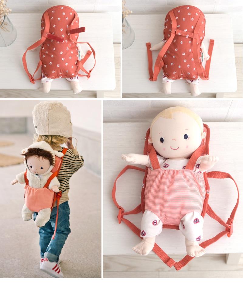 Lilliputiens リリピュション  ベビーキャリア  TYLL83155  赤ちゃん 人形 遊び 女の子 ごっこ遊び